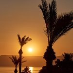 Morning Sunrise over the Sea of Galilee