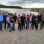 Gente Loca en el Pantano de Almansa.