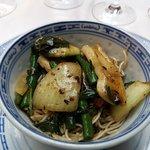 calamars sauce Sichuan
