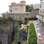 Balcony suite rooms overlooking the sea