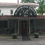 Blooming Grove Inn Parking Lot Entrance