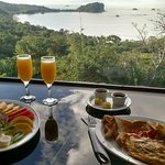 Our last breakfast, in the room (view was amazing!!)