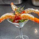Shrimp Cocktail @ K Rico