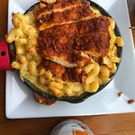 Mac & Cheese with Hot Chicken