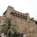 High Walls of Palace and Terrazas