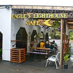 Eagle's Lighthous Cafe just outside the Volcano's National Park