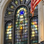 Gorgeous Stained Glass in Chapel