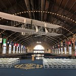 Beautiful Field House ,no longer used for Graduation because it's too small
