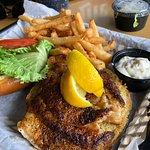 Blackened Grouper Fish Sandwich