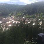 View of Deadwood from the cemetery lookout