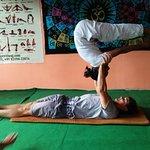 Yoga teacher training course with Raj team..