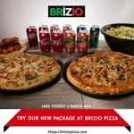 Have a look to our package at brizio pizza! Visit Brizio Pizza or order online -