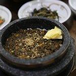 Fotografie Garam Abalone Stone Pot Rice