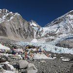 This is real mt. Everest Base Camp (5345 meters)