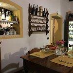 Cantina da Mario's indoor dining in a smaller room