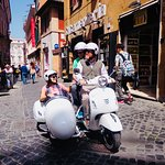 Visites en Vespa, scooter ou motocyclette