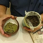 Fresh green tea vs not fresh