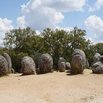 Historic Stones Near a Cork Forest