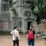 He was the perfect tour guide for the remarkable temples.
