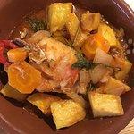Muito Delicioso recomendo, pescada no forno acompanhar com uma sangria branca fresca...👌🏼🍴