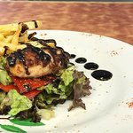 Grilled top octopus