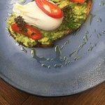 Avocado & egg for brunch!