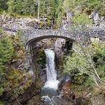 Waterfall in Mt. Rainier National Park