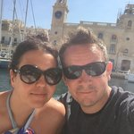 Setting off from Valetta