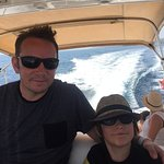 boys on the boat