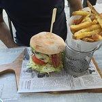 Un tipo di hamburger che servono
