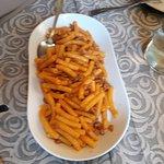 maccheroncini alla salsiccia