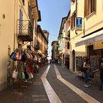 Bardolino main drag - from the boat station to the Chiesa di San Nicolo