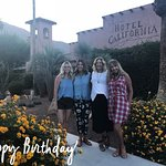 Besties Birthday getaway at the Hotel California