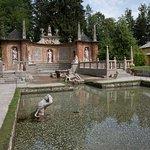 Uno de los estanques del Palacio
