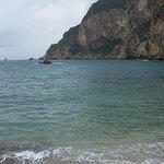 St. Petro Beach in Paleokastritsa