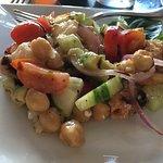 Panzanella Siciliana salad