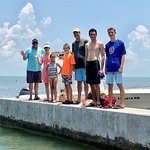 Keys Boat Tour snorkelling at Looe Key with Captain Brian