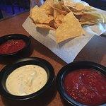 Salsa and Jalapeno dip