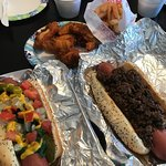Chicago Dog - Coney Dog - Wings - Fries