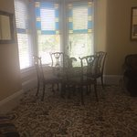 Front room - perfect for an intimate breakfast or for cards/games later in the day.