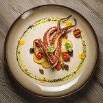 Roasted octopus »Alla Mediterranea«