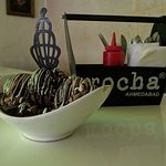 If you are going for the deserts then you can must try Chocolate avalanche. And if you are going