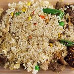 Fried Rice with combination meats