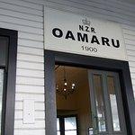 NZR Oamaru 1900