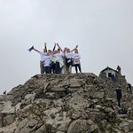 Our Team at the summit of Ben Nevis