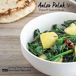 Aaloo Palak - Potato & Spinach Bhujia