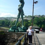 The good Lady Wife. No,not the statue!!