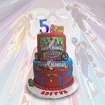 Power Rangers Birthday Cake