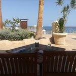 Enjoy a delightful Mediterranean taste with such a magnificent view