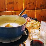 Cheese fondue - an dairy assault on the body but so delicious